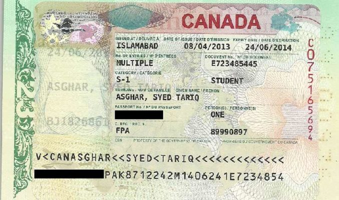 Visto para visitar estudar Canadá