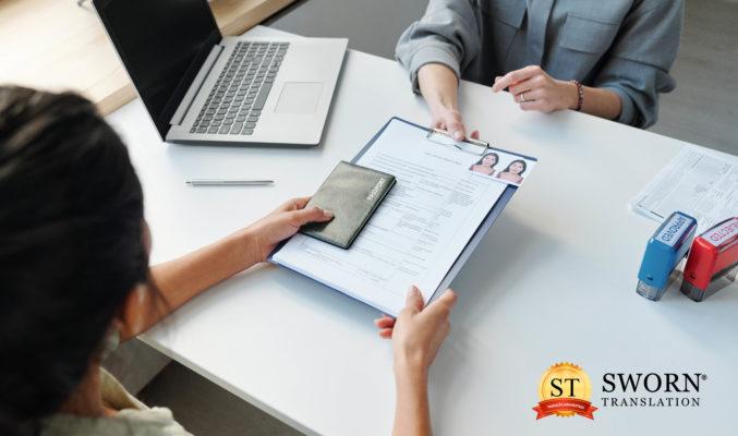 Quais são os documentos que precisam de tradução Juramentada