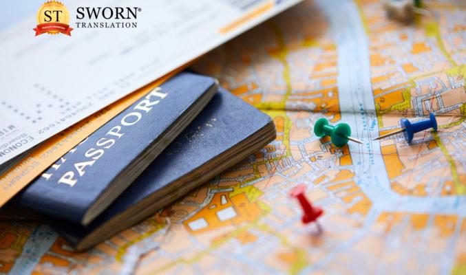 Tradução juramentada de passaporte