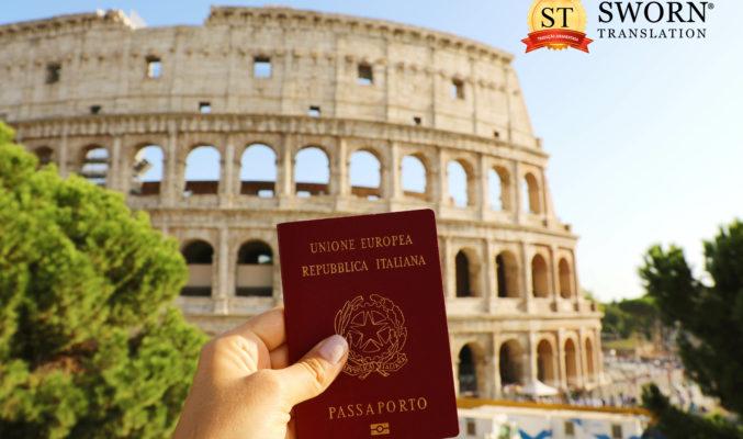 Documentos necessários para cidadania italiana 2022